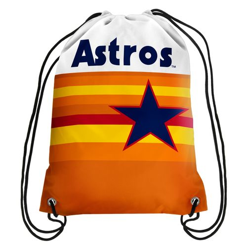 Forever Collectibles™ Houston Astros Retro Drawstring Backpack