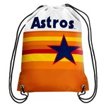 Forever Collectibles™ Houston Astros Retro Drawstring Backpack - view number 1