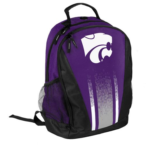 Forever Collectibles™ Kansas State University Stripe Primetime Backpack