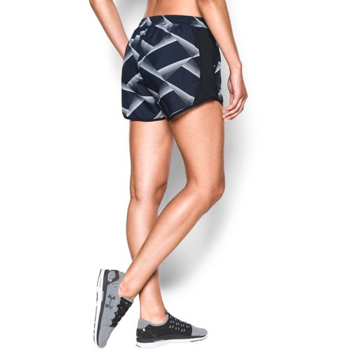 Under Armour Women's Fly By Printed Run Short - view number 4