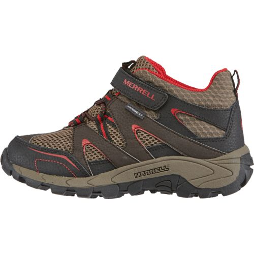 Display product reviews for Merrell® Kids' Hilltop Quick-Close Mid Hiking Shoes