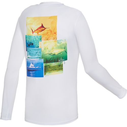 Guy Harvey Men's Pro UVX Performance New Dawn T-shirt