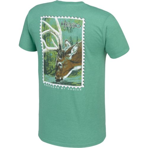 Heybo Men's Deer Stamp T-shirt