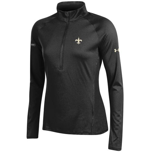 Under Armour™ NFL Combine Authentic Women's New Orleans Saints Tech 1/4 Zip Pullover