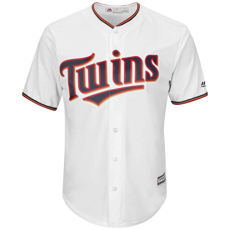 Majestic Men's Minnesota Twins Eduardo Escobar #5 Cool Base Replica Jersey - view number 3