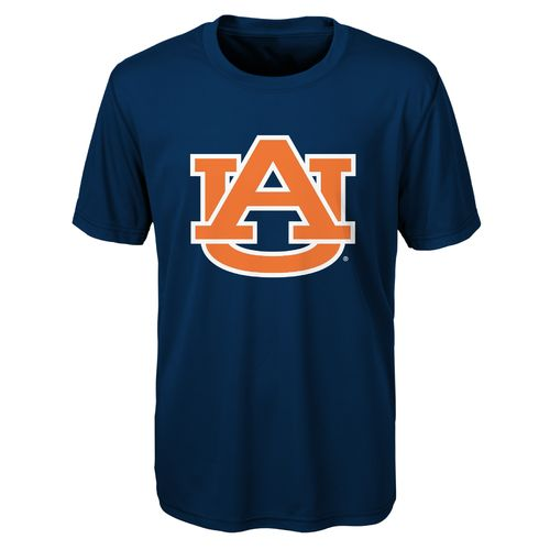 NCAA Boys' Auburn University Logo Performance T-shirt