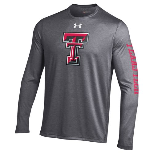 Under Armour Men's Texas Tech University Tech Long Sleeve T-shirt