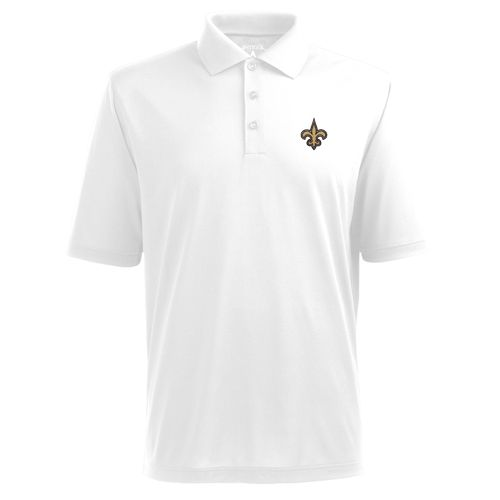 Antigua Men's New Orleans Saints Deluxe Polo Shirt