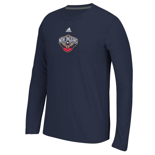 adidas Men's New Orleans Pelicans climalite Long Sleeve T-shirt