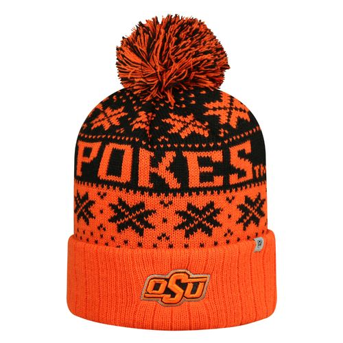 Top of the World Men's Oklahoma State University Subarctic Knit Cap