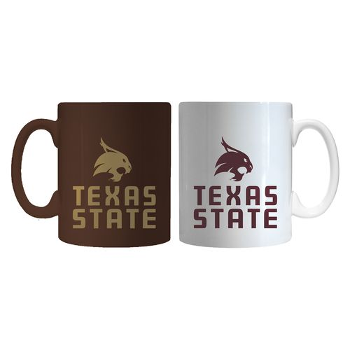 Boelter Brands Texas State University Home and Away Mug Set
