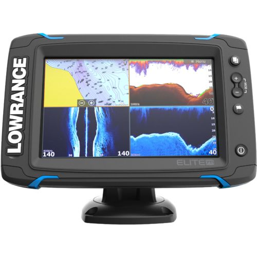 Lowrance Elite-7 Ti Mid/High DownScan Fishfinder/GPS Combo - view number 3