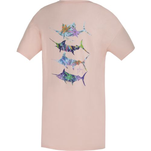 Guy Harvey Women's Wild Flowers T-shirt
