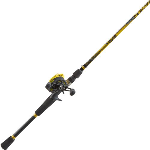 "Display product reviews for BOOYAH Padcrasher 6'6"" MH Baitcast Rod and Reel Combo"