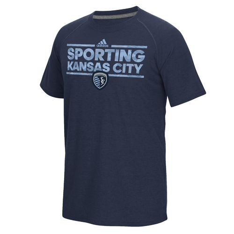 Cheap adidas Men's Sporting Kansas City Dassler Tactical climalite T-shirt hot sale