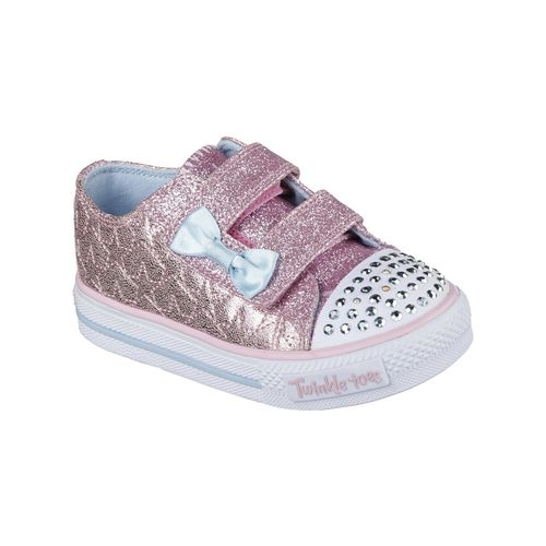Display product reviews for SKECHERS Toddler Girls' Twinkle Toes Shuffles Shoes