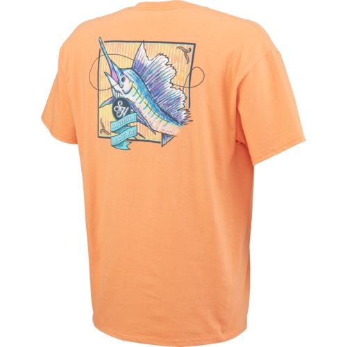 Southern Heritage Men's Rainbow Marlin T-shirt - view number 2