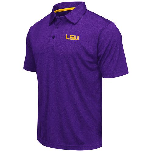 Colosseum Athletics™ Men's Louisiana State University Academy Axis Polo Shirt