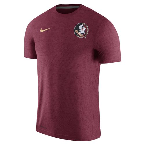 Nike Men's Florida State University Dry Top Coaches Short Sleeve T-shirt - view number 1