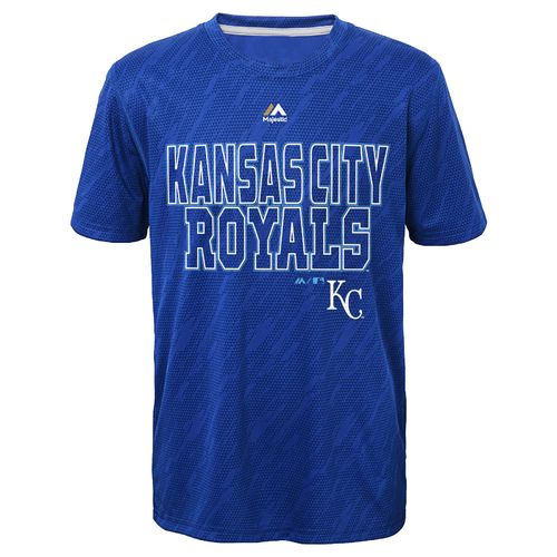 MLB Boys' Kansas City Royals Geo Fuse T-shirt