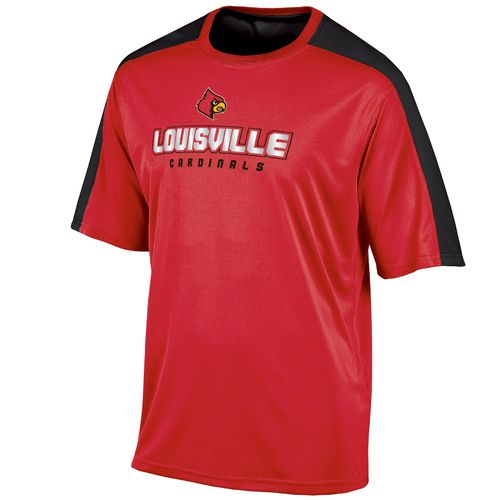 Champion™ Men's University of Louisville Colorblock T-shirt