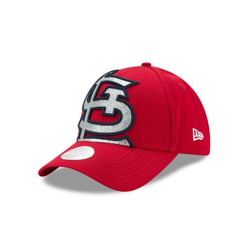 New Era Women's St. Louis Cardinals Glitter Glam 9FORTY Cap - view number 1