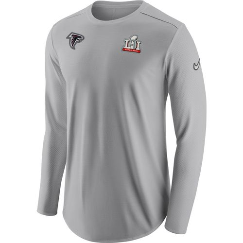 Nike Men's Atlanta Falcons Super Bowl 51 Dry Pregame '16 Long Sleeve T-shirt