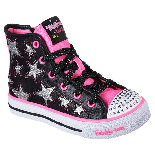 SKECHERS Girls' Twinkle Toes Shuffles Shoes - view number 2
