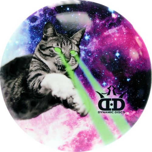 Dynamic Discs DyeMax Laser Kitty Driver Golf Disc