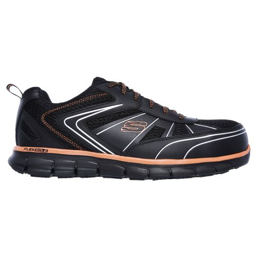 SKECHERS Men's Synergy Fosston Alloy-Toe Work Shoes