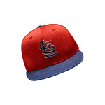 New Era Men's St. Louis Cardinals Stars and Stripes 2T '17 59FIFTY Cap - view number 9