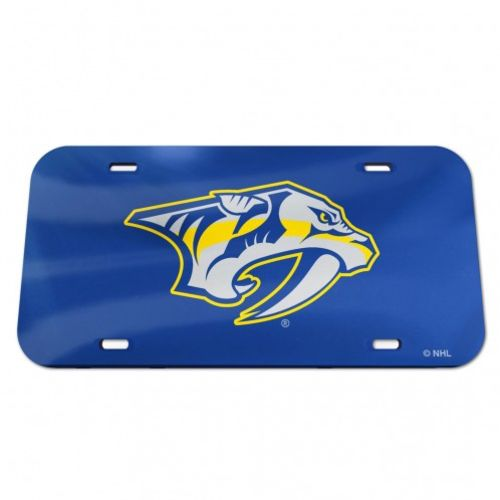 WinCraft Nashville Predators Mirror License Plate