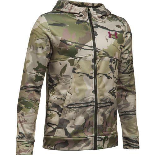 Under Armour Boys' Icon Camo Full Zip Hoodie