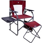 GCI Outdoor 3-Position Director's Chair with Ottoman - view number 1