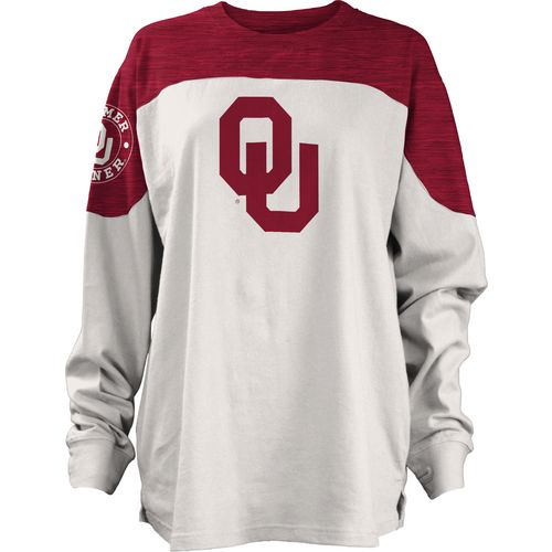 Three Squared Juniors' University of Oklahoma Cannondale Long Sleeve T-shirt