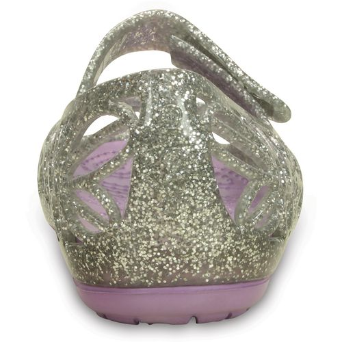 Crocs Girls' Isabella Glitter Flats - view number 5
