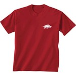New World Graphics Women's University of Arkansas Logo Aztec T-shirt - view number 2