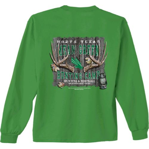 New World Graphics Men's University of North Texas Hunt Long Sleeve T-shirt