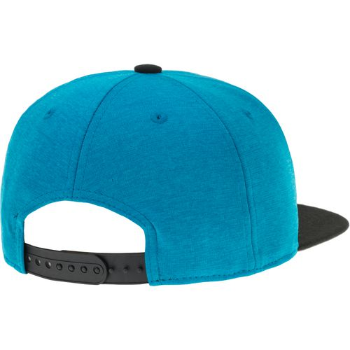 New Era Men's Carolina Panthers Heather Huge Snapback 9FIFTY Cap - view number 3
