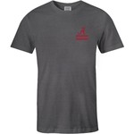 Image One Men's University of Alabama Comfort Color Distressed Flag T-shirt - view number 2