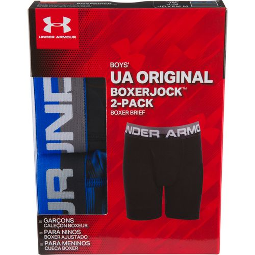 Under Armour Boys' Performance Boxer Briefs 2-Pack - view number 4
