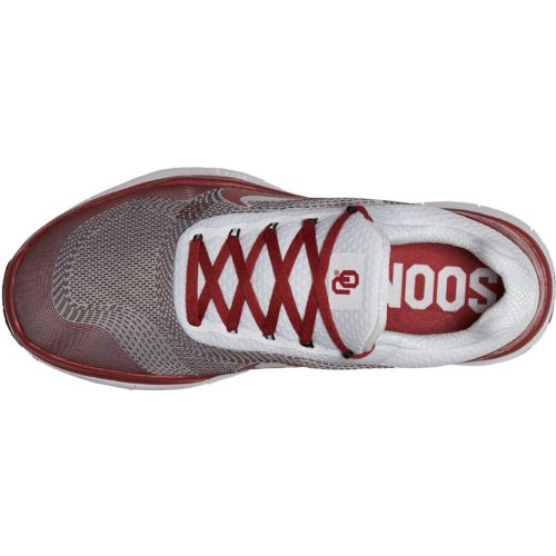 Nike Men's University of Oklahoma Free Trainer V7 Week Zero Training Shoes - view number 4