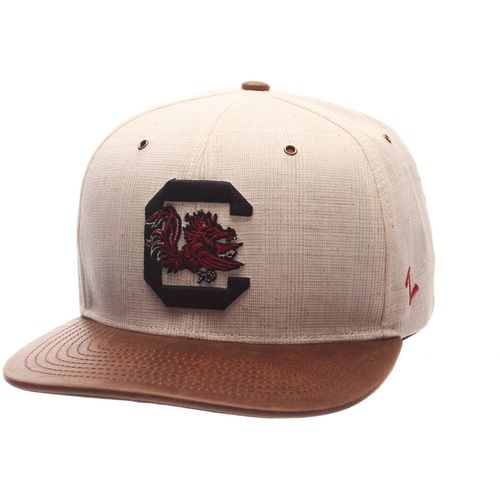Zephyr Men's University of South Carolina Havana Flat 2-Tone Cap