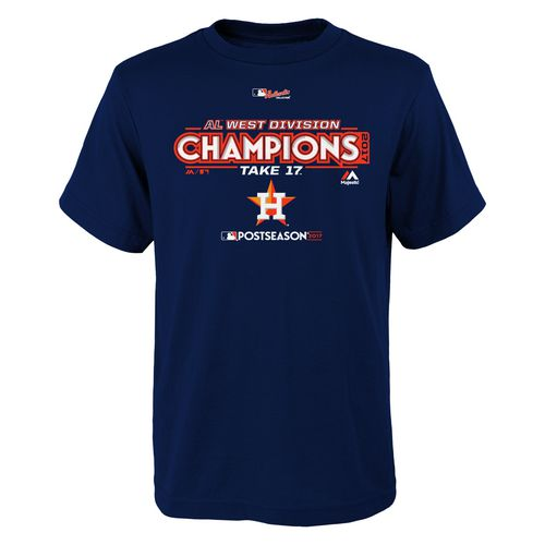 Youth Astros Division Champs Locker Room T-Shirt