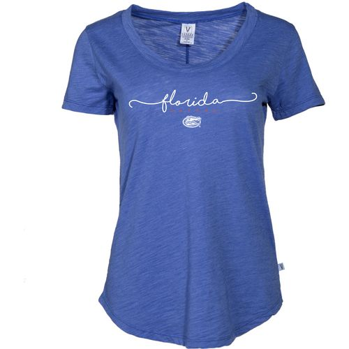 Venley Women's University of Florida Slub T-shirt