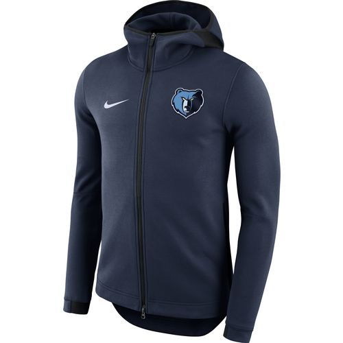 Nike Men's Memphis Grizzlies Showtime Full Zip Hooded Jacket