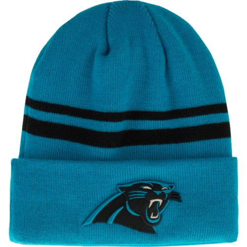 New Era Men's Carolina Panthers Cuff Knit Cap