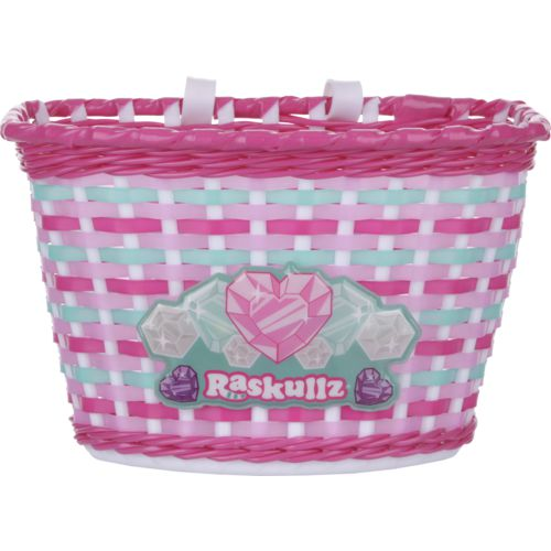 Raskullz Girls' Hearty Gem Bicycle Basket