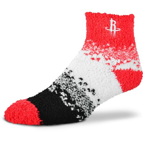 For Bare Feet Women's Houston Rockets Marquee Sleep Soft Quarter Socks