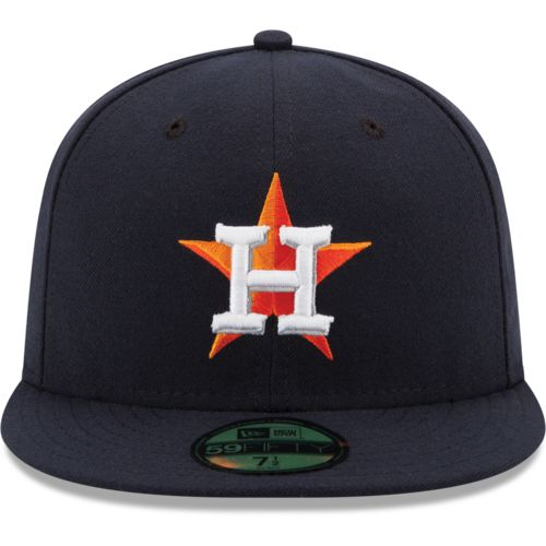 New Era Men's Astros 2017 World Series Champs 5950 Side Patch Cap